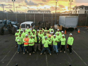Picture of employees at Titan Idustries LLC.