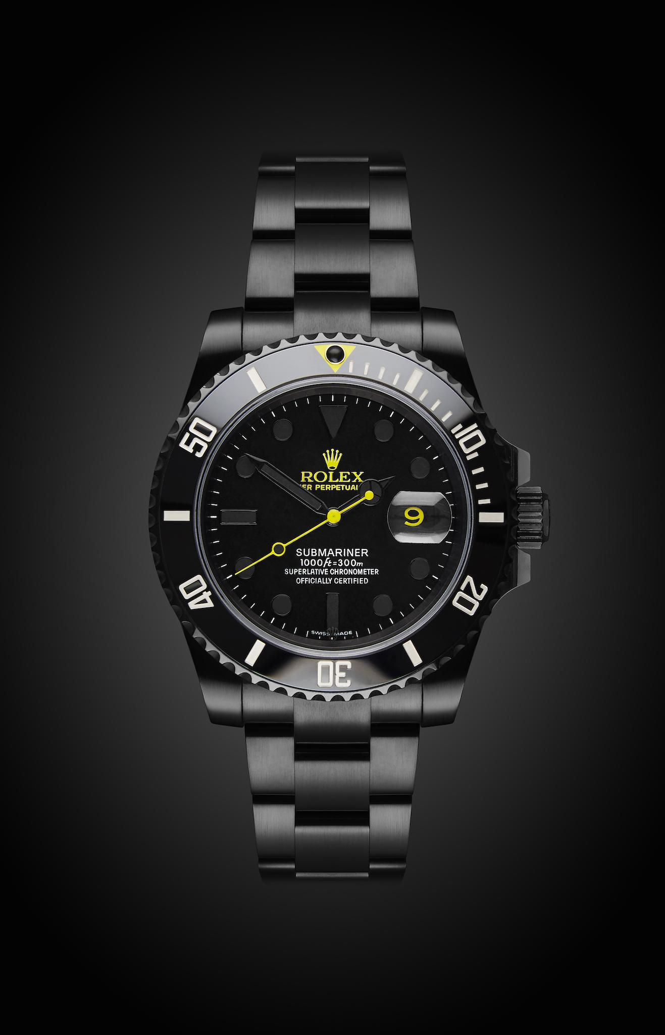 Rolex Submariner Date Halo Titan Black