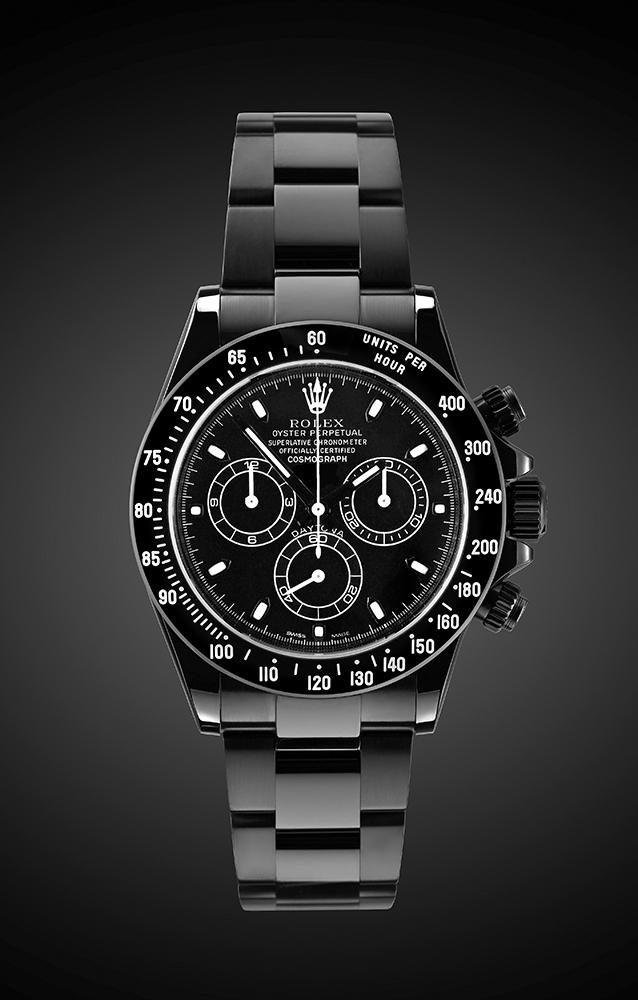 Rolex Daytona Midnight  Titan Black