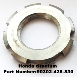 Honda steering stem lockring