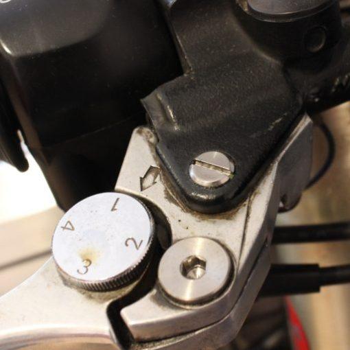 TITANIUM brake lever pins