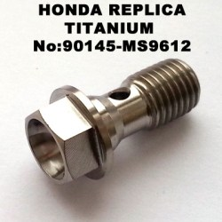 honda fitting M10 single banjo bolt