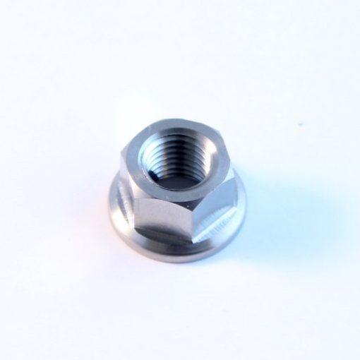 M10 x 1.25mm TITANIUM flange nut