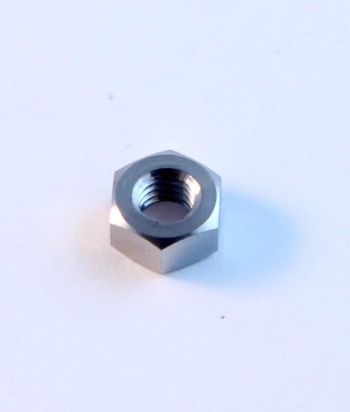 M6 TITANIUM plain nut