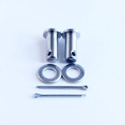 Classic Mini TITANIUM handbrake clevis pins