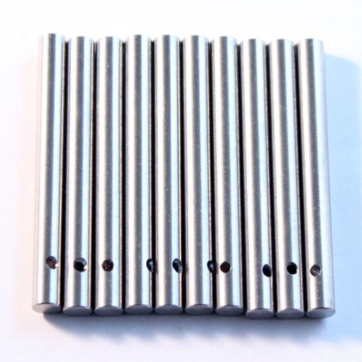 Suzuki titianium version of caliper pin