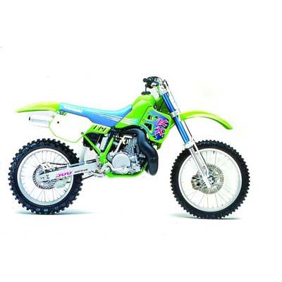 KX500 titanium parts