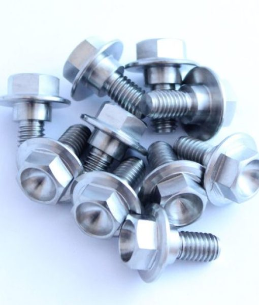 90111-162-000 TITANIUM stepped bolt