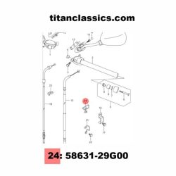 Titanium Cable stay