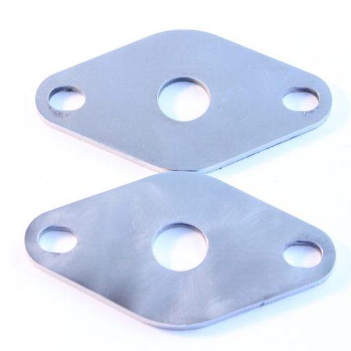 Stainless retaining plates