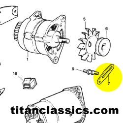 alternator adjuster bracket