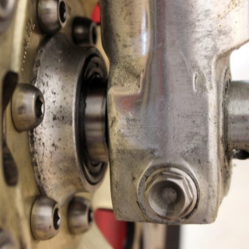 15mm TITANIUM spindle washer