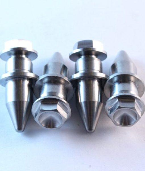 Titanium drive pin set