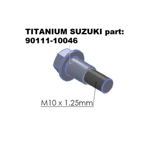 90111-10046 TITANIUM bolt