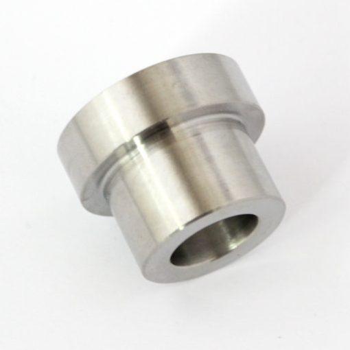 titanium RD350 front wheel spacer