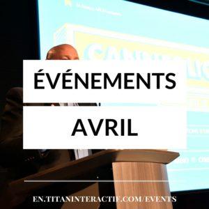 événements avril