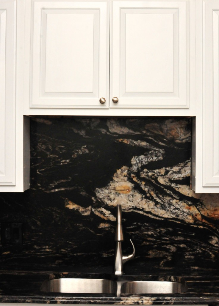 black kitchen islands elegant cabinets titanium granite - project details and pictures