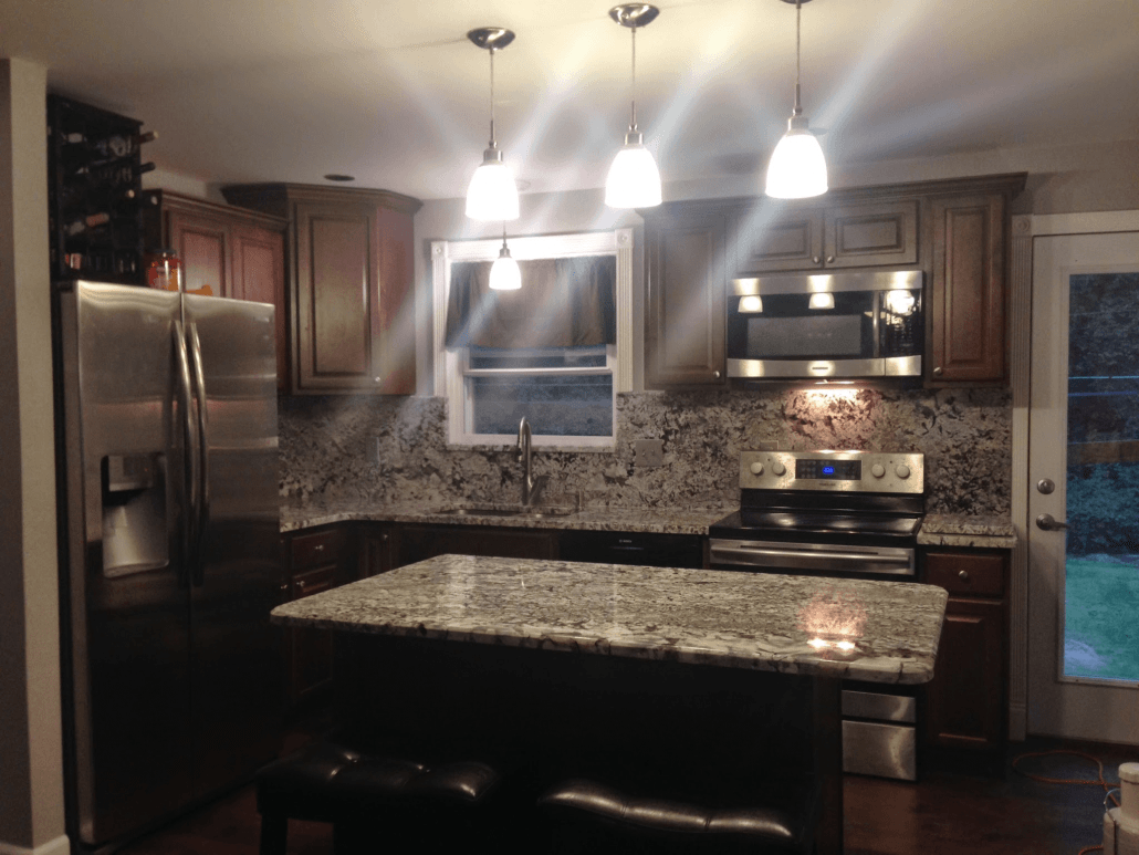 kitchen islan remodel how to new azul aran granite - project details and pictures