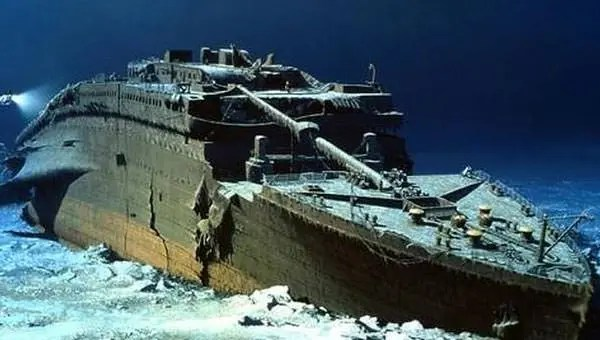 inside the titanic diagram wiring gibson les paul junior how deep is facts wreckage of lying in atlantic