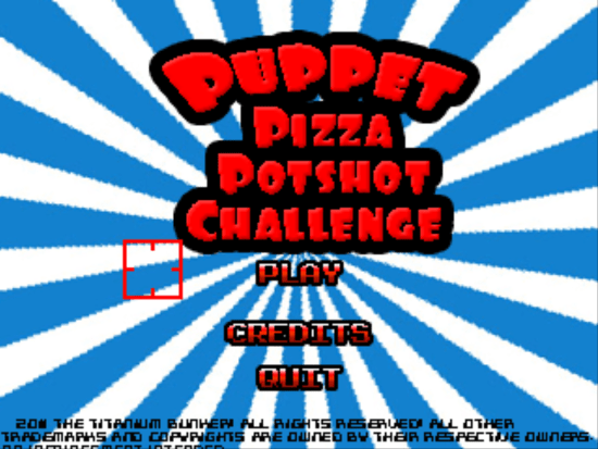 Title Screen of PPPC