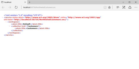 Metadata from my WCF Data Service