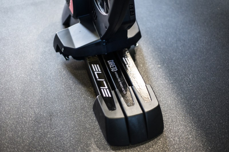 TitaniumGeek Elite Visit 1 of 1 22 Elite Direto Smart Trainer Review | Zwift Gear Test Cycling Gear Reviews Smart Trainers Zwift  Zwift Gear Test Zwift Turbo Trainer power meter elite direto cycling   Image of Elite Visit 1 of 1 22