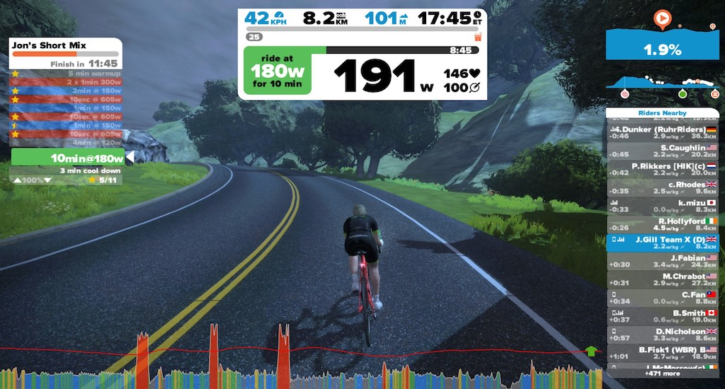 TitaniumGeek 2017 05 19 1633380 Elite Direto Smart Trainer Review | Zwift Gear Test Cycling Gear Reviews Smart Trainers Zwift  Zwift Gear Test Zwift Turbo Trainer power meter elite direto cycling   Image of 2017 05 19 1633380