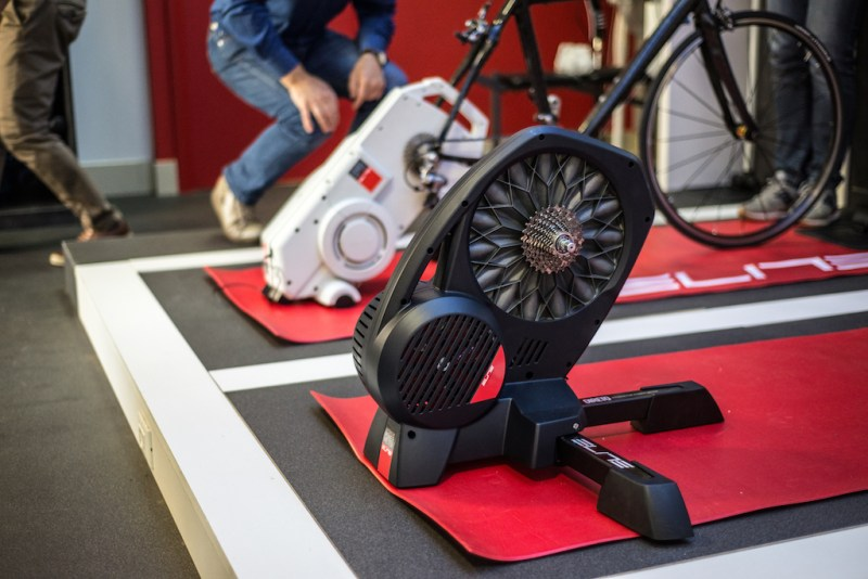 TitaniumGeek Elite Factory 277 of 322 2 Elite Direto Smart Trainer Review | Zwift Gear Test Cycling Gear Reviews Smart Trainers Zwift  Zwift Gear Test Zwift Turbo Trainer power meter elite direto cycling   Image of Elite Factory 277 of 322 2