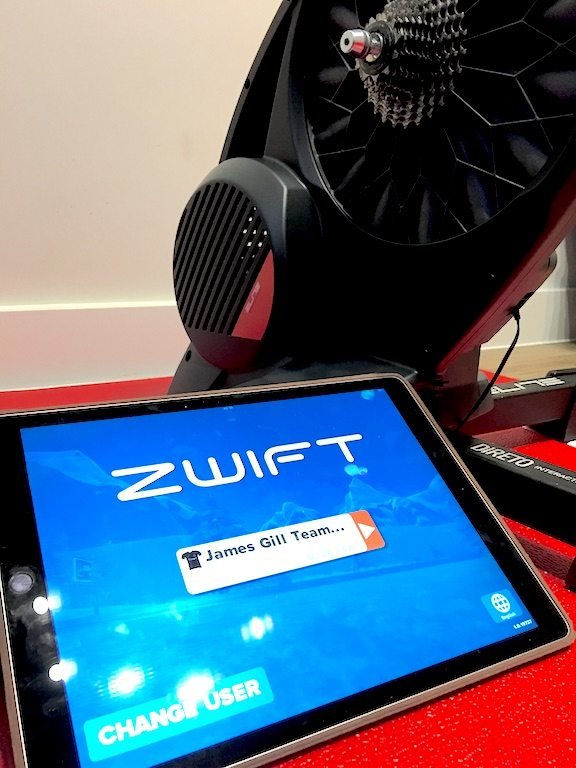 TitaniumGeek IMG 1901 Elite Direto Smart Trainer Review | Zwift Gear Test Cycling Gear Reviews Smart Trainers Zwift  Zwift Gear Test Zwift Turbo Trainer power meter elite direto cycling   Image of IMG 1901