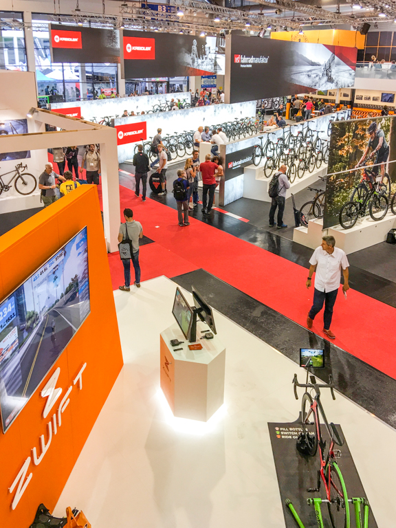 TitaniumGeek eurobike 2 of 2 Eurobike 2017   My Highlights Cycling Titanium Adventures  Zwift Wahoo Tacx MIPS EuroBike   Image of eurobike 2 of 2