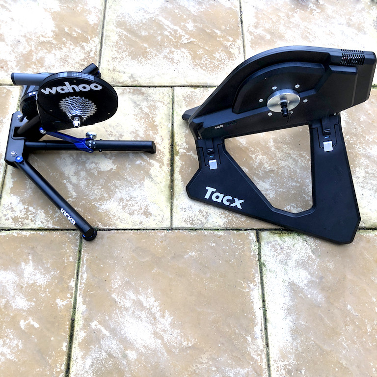 TitaniumGeek Untitled 1 Tacx Neo vsWahoo KICKR 2017   Zwift Turbotrainer Wars!! Cycling Gear Reviews Zwift  Zwift Wahoo KICKR Wahoo TacX Neo Tacx indoor cycling   Image of Untitled 1
