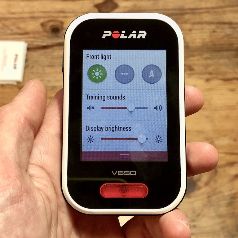 TitaniumGeek IMG 0184 Polar V650 2018 Cycling Computer Review Cycling Cycling Computers and GPS Units Gear Reviews  Polar GPS cycling   Image of IMG 0184