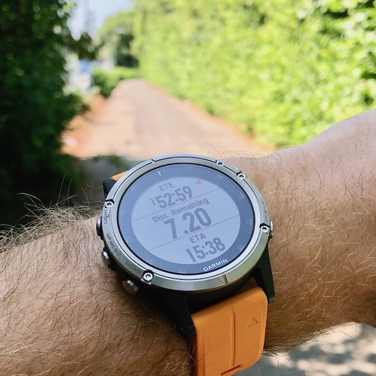TitaniumGeek IMG 0204 Garmin Fenix 5 Plus Review: When More Can Mean Less Cycling Gear Reviews Heart Rate Monitors Running  Triathlon smart watch running Optical Heart Rate garmin Fenix cycling   Image of IMG 0204