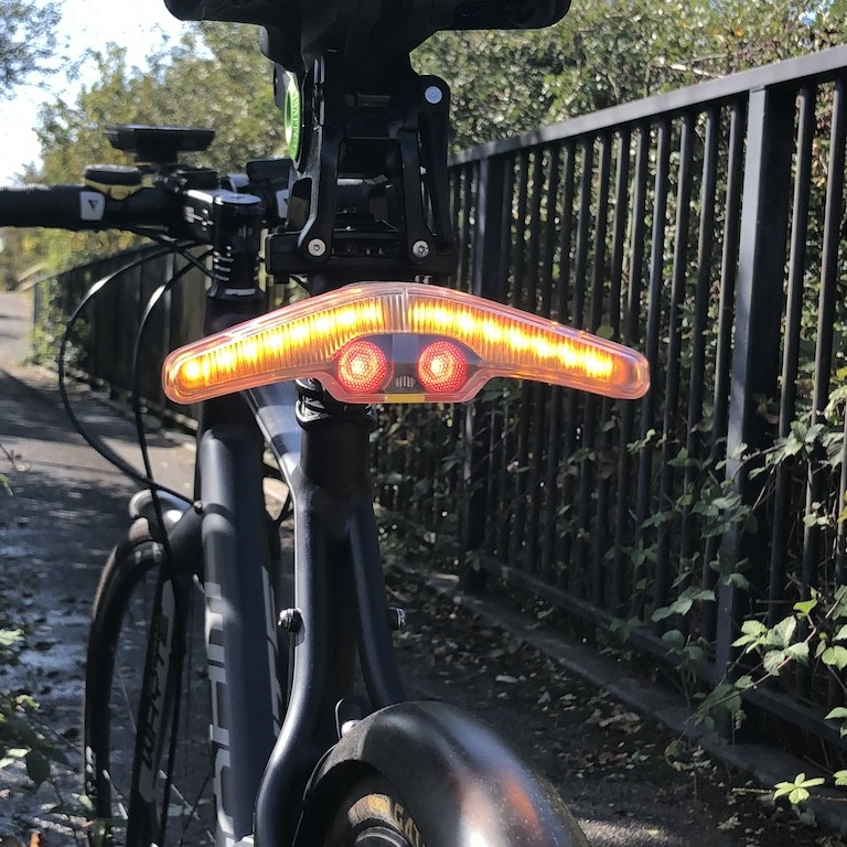 TitaniumGeek IMG_2862 Blinkers by Velohub Review: Big, Bright and lights cycling commuting