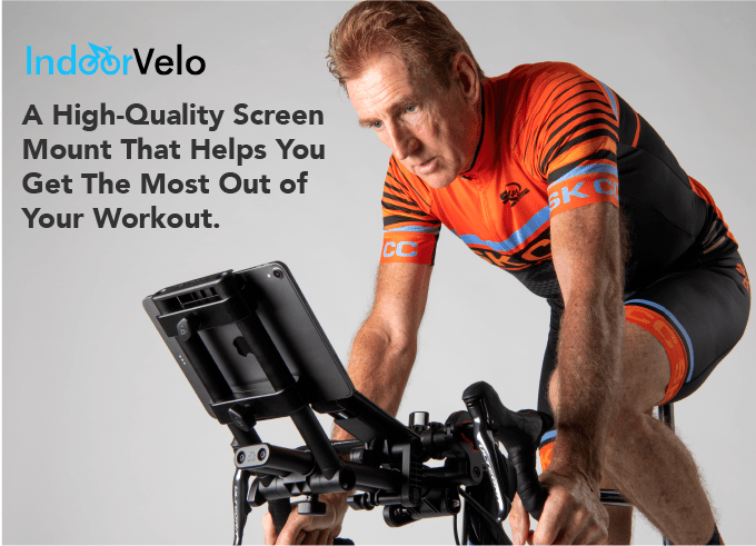 TitaniumGeek 69d7c15785501eb36e7ad1fc973fdafc original Indoor Velo   your tech mount solution? Cycling Indoor cycling Kickstarter RGT Smart Trainers Turbo training Turbo Training Veloton Virtual cycling Zwift  Turbo Trainer tablet mount Smart trainer sean kelly laptop mount kickstarter iPad mount indoor velo cycle mount   Image of 69d7c15785501eb36e7ad1fc973fdafc original