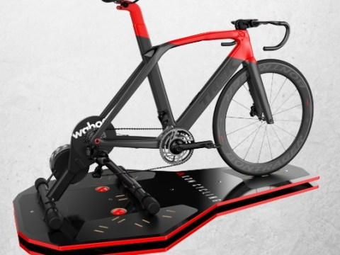 TitaniumGeek Rockerplate Zwift   Jedi Drafting Skills Cycling Indoor cycling Smart Trainers Turbo training Turbo Training Zwift  zwift racing Zwift pace partners gaming esport eracing drafting. cadence sport bike fit   Image of Rockerplate