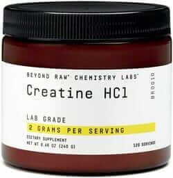 creatine hcl creatine hydrochloride powder