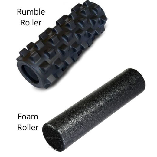 Pain relief foam rollers for myofascial release