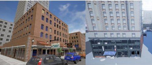 Le contructeur de City of titans : comparaison entre 2 bâtiments réalisés à la main ou par le constructeur