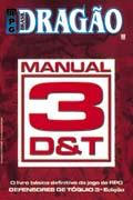 A capa do Manual 3D&T: com dados comuns, era tudo que eu precisava.