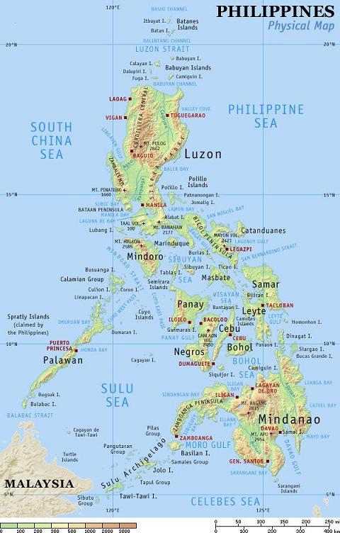 kaart philippines