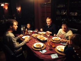 tafelen bij ans