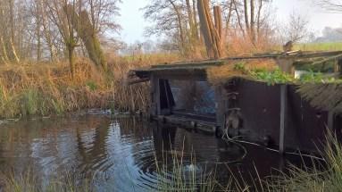 Hut 1 : Luik visvijver