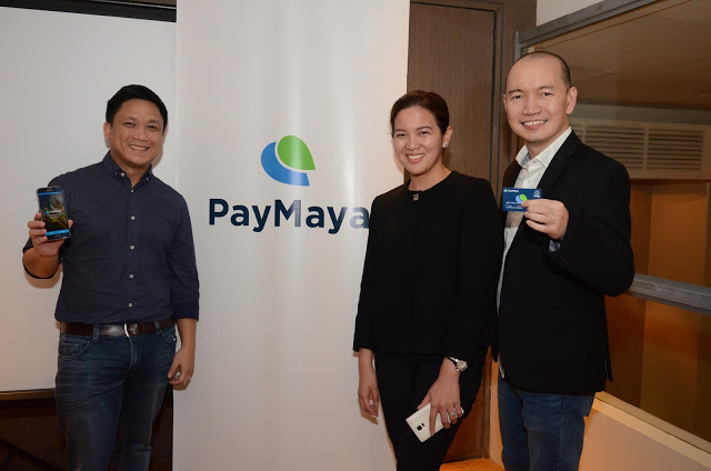 (Left to right) Edmon Joson, Head of Product at PayMaya Philippines; Macy Guinto, Program Manager at PayMaya Philippines; and Lawrence Ferrer, Vice President and Head of Domestic Services at PayMaya Philippines