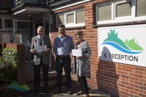 Titchfield Art & Craft Show Cheque presentation 2017