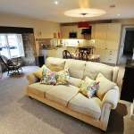 Byre Cottage Living and Kitchen Area