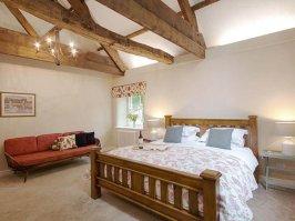 Farmhouse Cottage Master Bedroom (En Suite View)