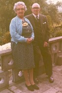 49 Mabel and Harry Meaker (grandparents at their golden wedding)
