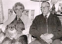 53 grandparents and tina the peekinese
