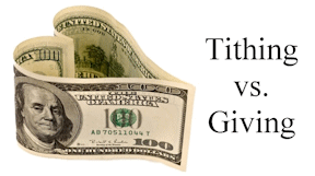 Image result for picture Christian tithing Bible